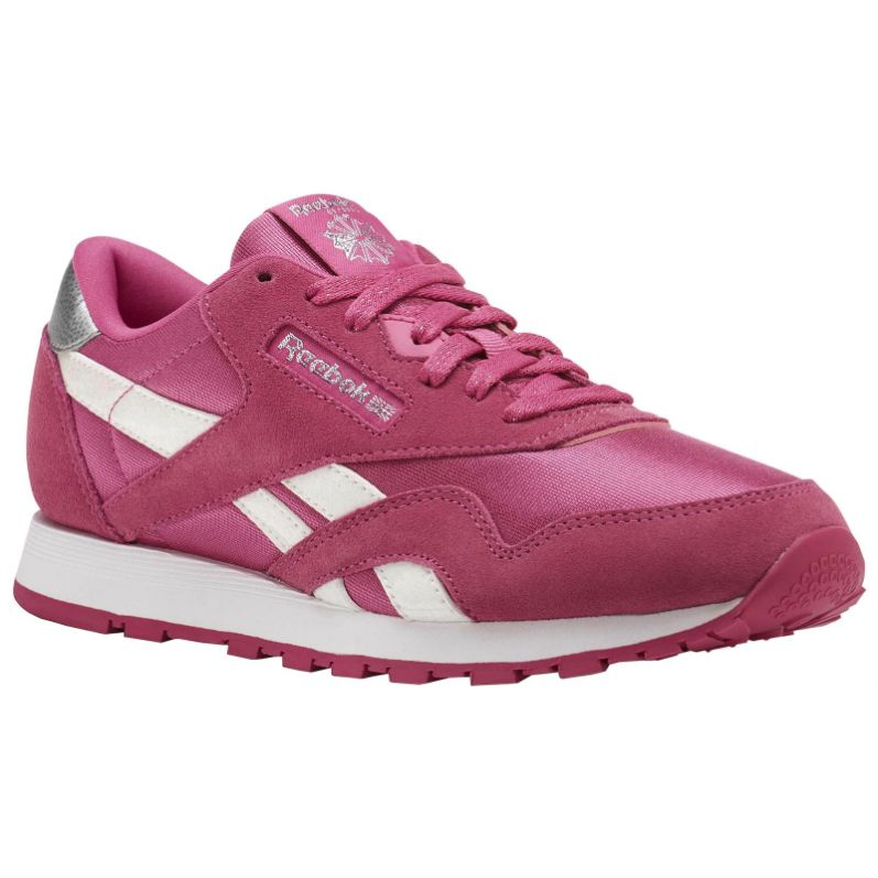 Reebok Youth Classic CN1263 Nylon Trainers