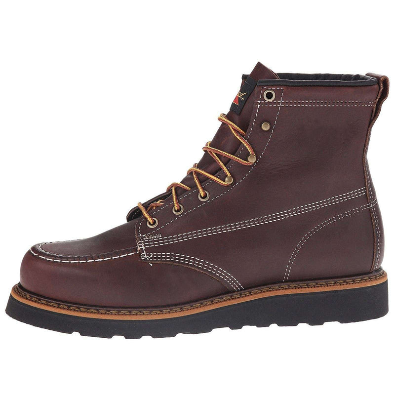Thorogood Mens 6 Inch Moc Toe 814-4266 Leather Boots