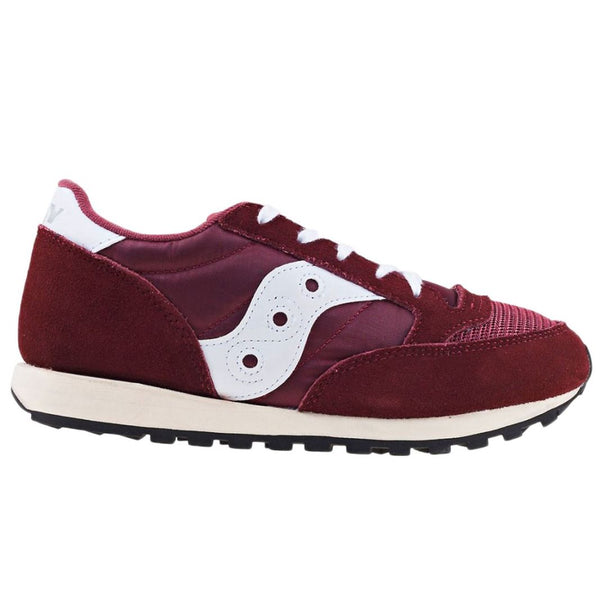 Saucony JZ-ORG-BUR Unisex Mens Trainers#color_burgundy