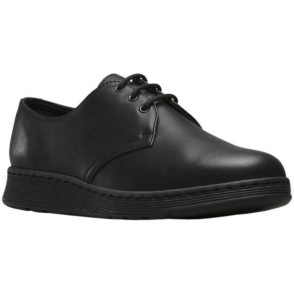 Dr.Martens Cavendish 3-Eyelet Leather Womens Shoes#color_black
