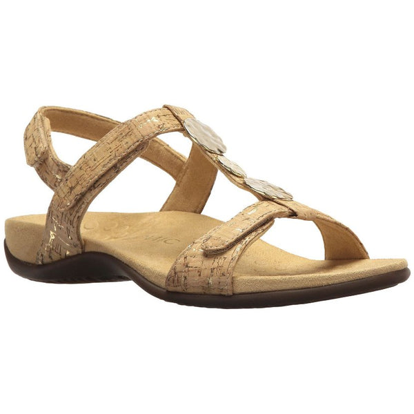 Vionic Farra Synthetic Womens Sandals#color_gold cork