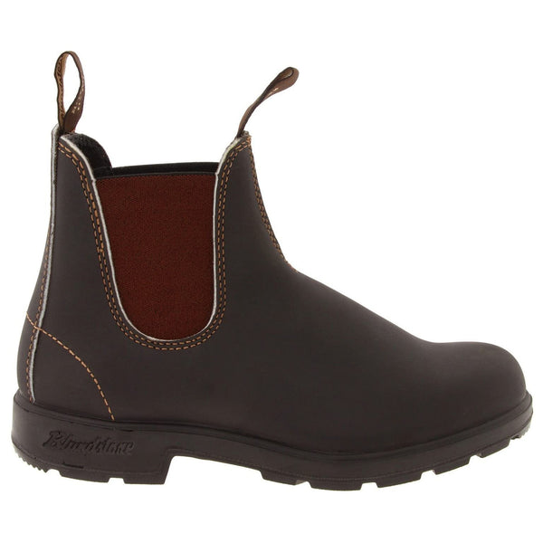 Blundstone 500 Leather Womens Boots#color_stout brown