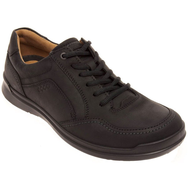 Ecco Howell Leather Mens Shoes#color_black