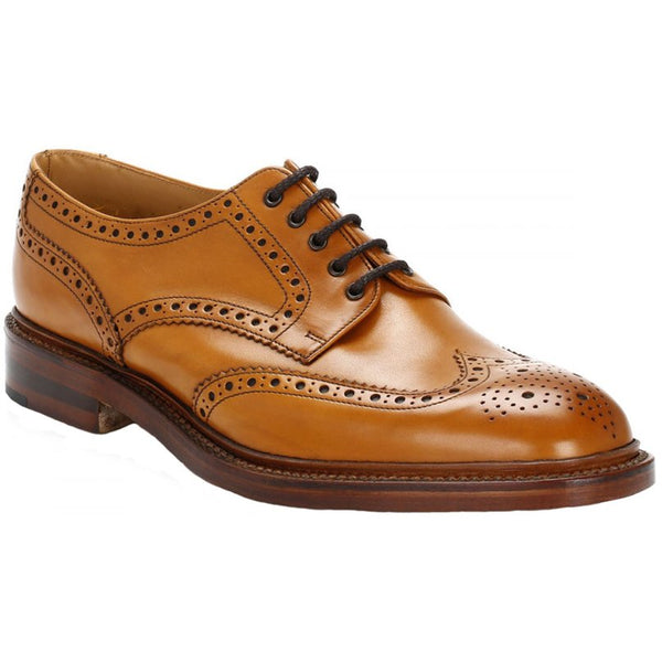 Loake Chester 2 Leather Mens Shoes#color_tan