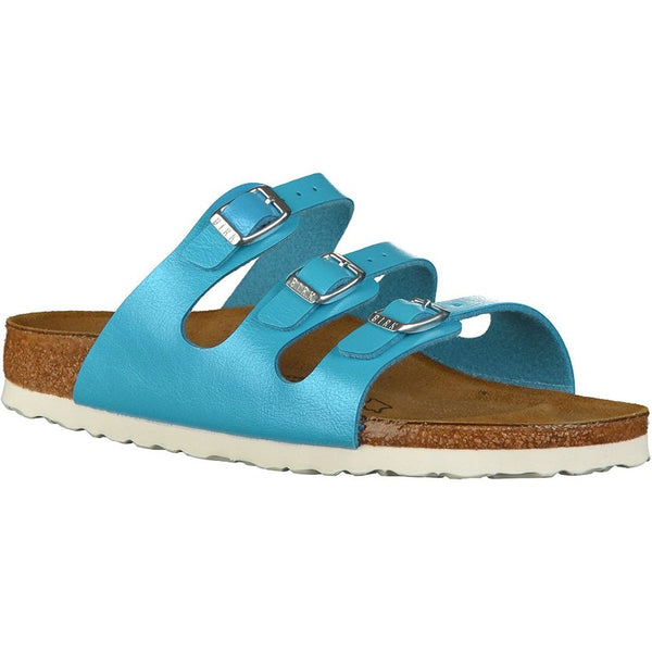 Birkenstock Florida Birko-flor Womens Sandals#color_graceful ocean
