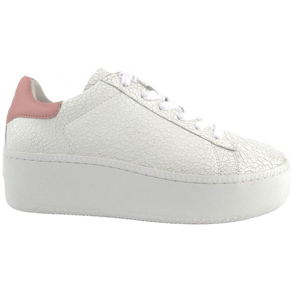 Ash Cult Leather Womens Trainers#color_white blush