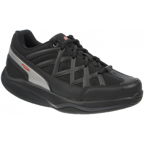MBT Sport 3 Mesh Synthetic Womens Trainers#color_black