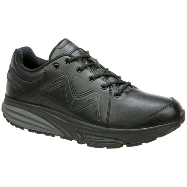 MBT Simba Leather Mens Trainers#color_black
