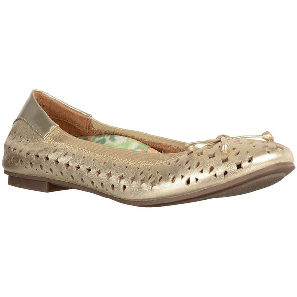Vionic 359 Surin Spark Leather Womens Shoes#color_gold