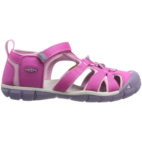 Keen Seacamp II CNX Synthetic Kids Sandals#color_very berry lilac