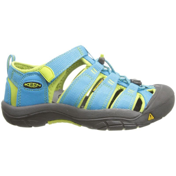 Keen Newport H2 Synthetic Youth Sandals#color_hawaiian blue green glow