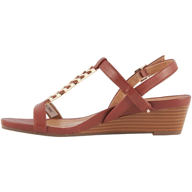 Vionic Port Cali Leather Womens Sandals