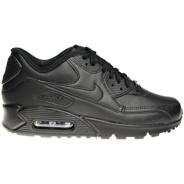 Nike Air Max 90 Other Leather Mens Trainers#color_black