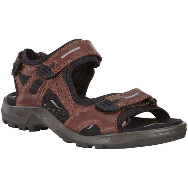 Ecco Offroad Other Leather Mens Sandals#color_brandy