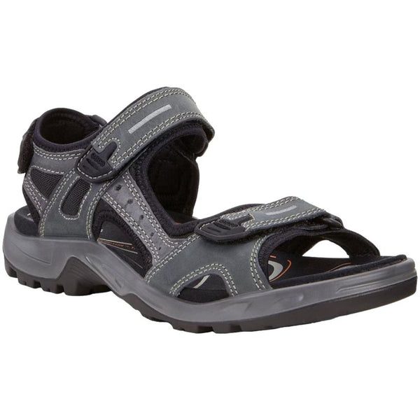 Ecco Offroad Nubuck Leather Mens Sandals#color_marine