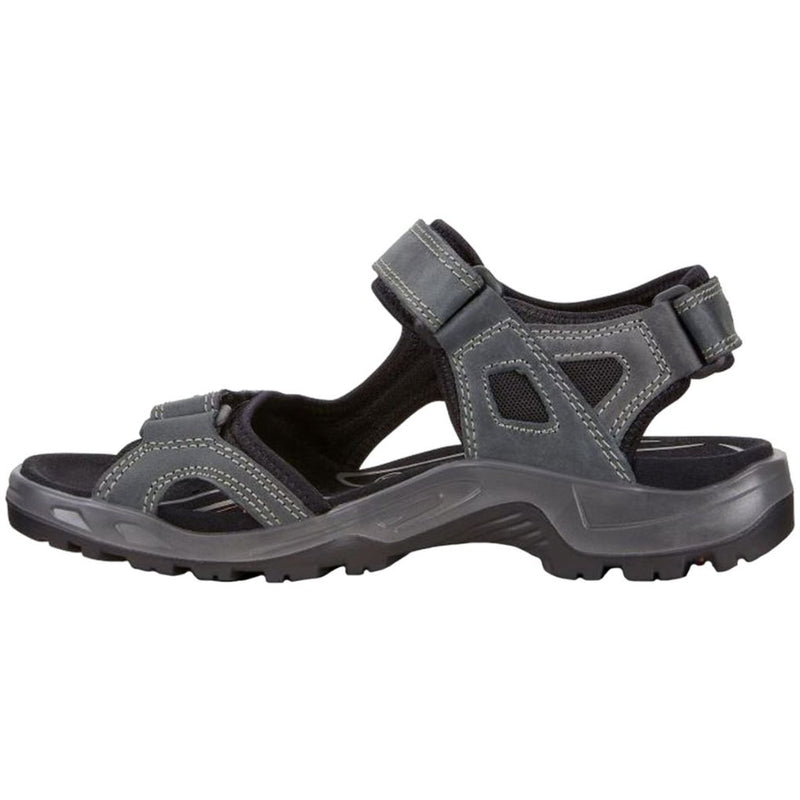 Ecco Offroad Nubuck Leather Mens Sandals