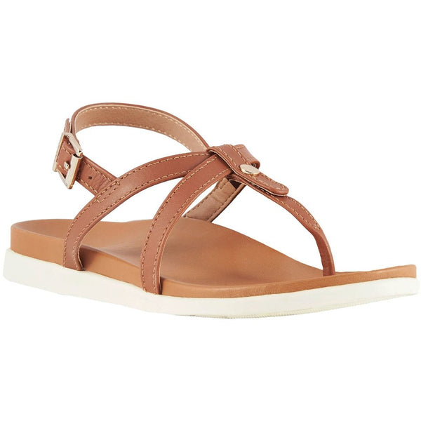 Vionic Palm Veranda Other Leather Womens Sandals#color_tan