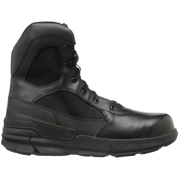 Bates Charge Composite Toe Side Zip Other Leather Mens Boots#color_black