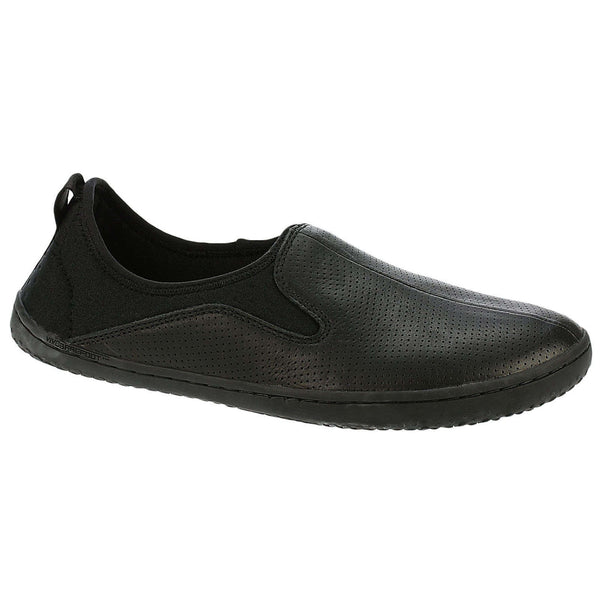 Vivobarefoot Slyde Other Leather Mens Shoes#color_black