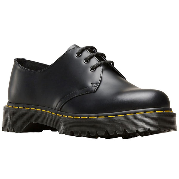 Dr.Martens 1461 Bex 3-Eyelet Smooth Leather Womens Shoes#color_black