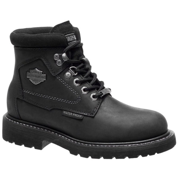 Harley Davidson Bedon Other Leather Womens Boots#color_black