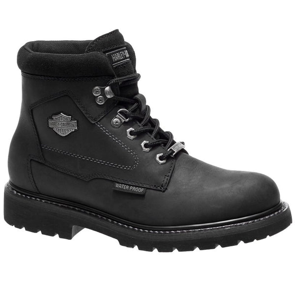 Harley Davidson Thurmond Other Leather Mens Boots#color_black