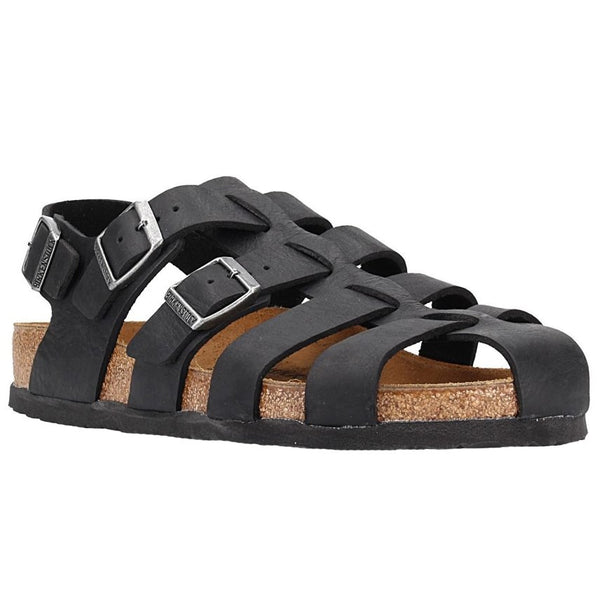 Birkenstock Zadar Nubuck Leather Womens Sandals#color_camberra old black