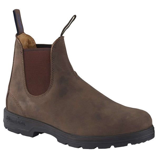 Blundstone 584 Leather Unisex Boots#color_rustic brown