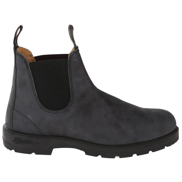Blundstone 587 Leather Womens Boots#color_rustic black
