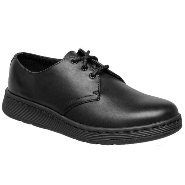 Dr.Martens Cavendish BTS 3-Eyelet Leather Kids Shoes#color_black