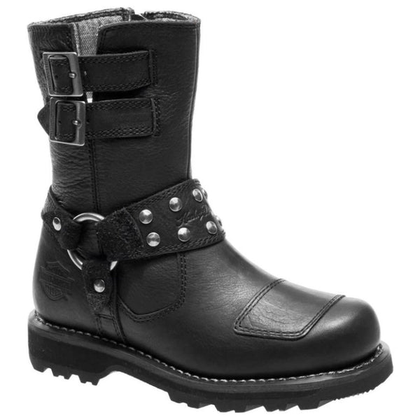 Harley Davidson D86013-BLK  Womens Boots#color_black