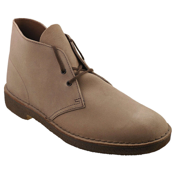 Clarks Originals Desert Boot Suede Mens Boots#color_wolf