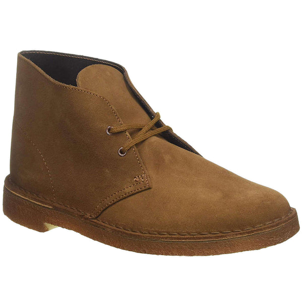 Clarks Originals Desert Boot Suede Mens Boots#color_cola