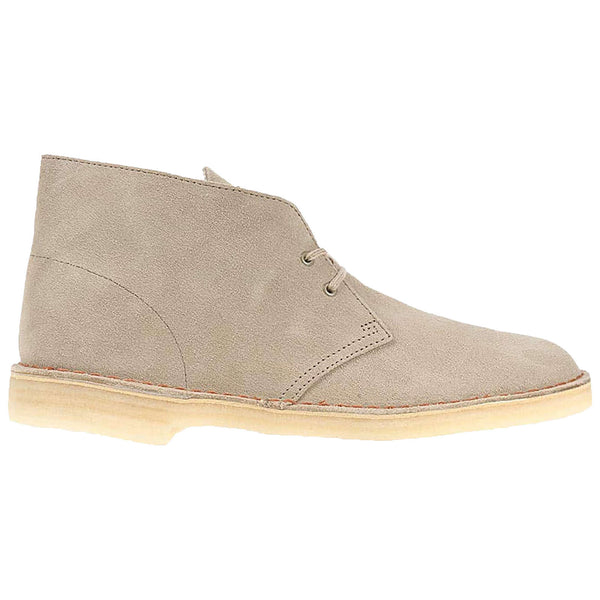 Clarks Originals Desert Boot Suede Mens Boots#color_sand
