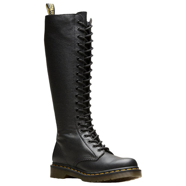 Dr.Martens 1B60 Virginia Leather Womens Boots#color_black