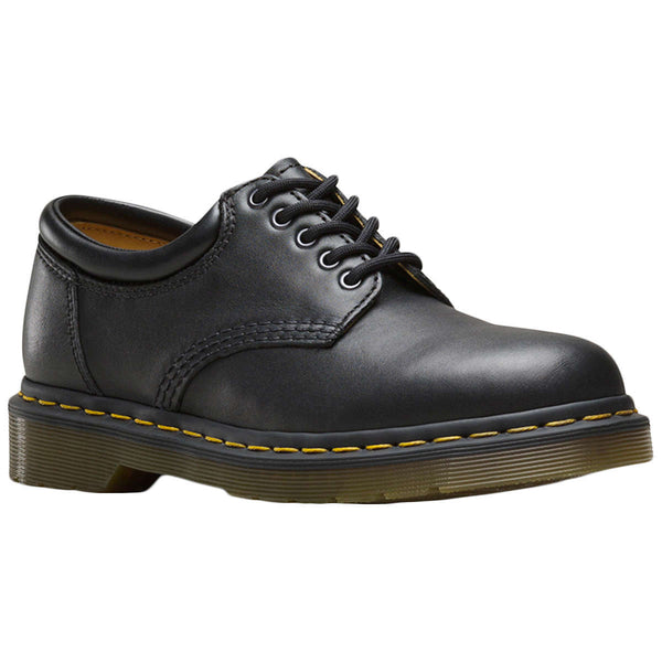 Dr.Martens 8053 Nappa Nappa Leather Unisex Shoes#color_black