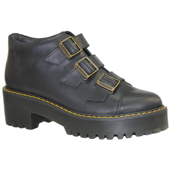 Dr.Martens Coppola Wyoming Leather Womens Boots#color_black