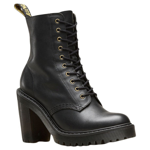 Dr.Martens Kendra Sendal Leather Womens Boots#color_black