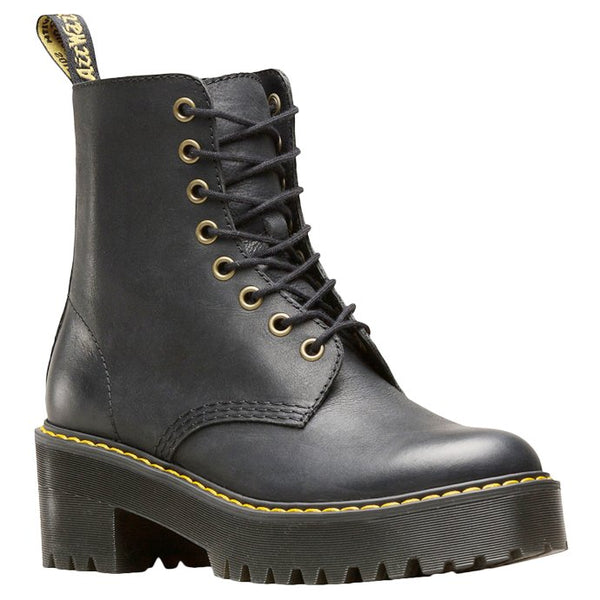Dr.Martens Shriver Hi Wyoming Leather Womens Boots#color_black