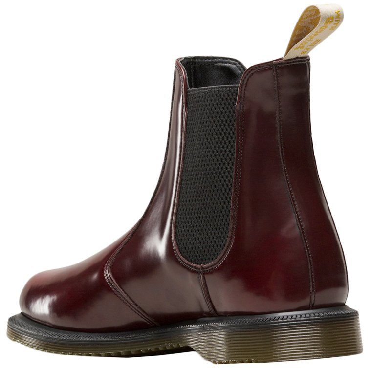 Dr.Martens Vegan Flora Cambridge Brush Synthetic Womens Boots