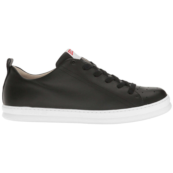 Camper Runner Four Cowhide Mens Shoes#color_black white
