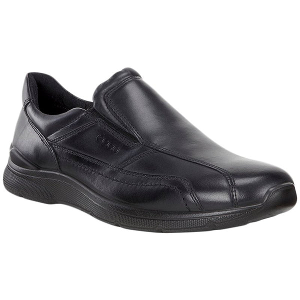 Ecco Irving Leather Mens Shoes#color_black