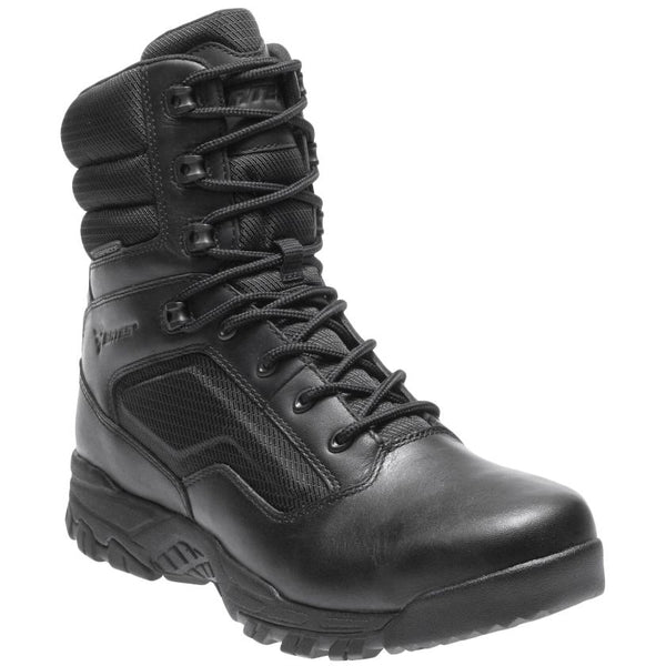 Bates SIEGE WATERPROOF SIDE ZIP Full grain leather Mens Boots#color_black