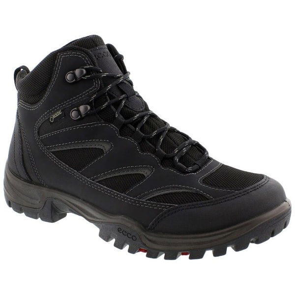 Ecco Xpedition III Synthetic Textile Mens Boots#color_black