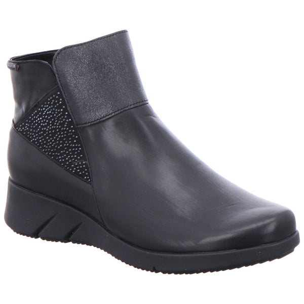 Mephisto Marylene Borneo Leather Womens Boots#color_black