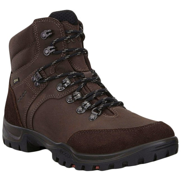 Ecco Xpedition III Leather Textile Mens Boots#color_coffee