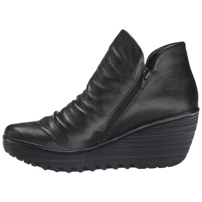 Fly London YIP Mousse Leather Womens Boots