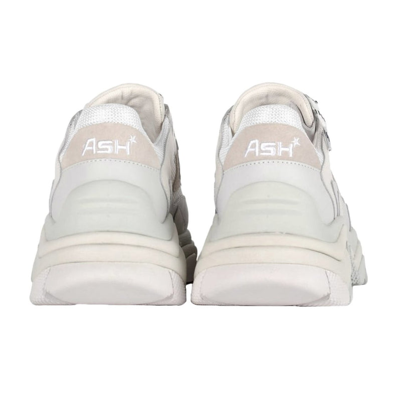Ash Addict Leather Mesh Womens Trainers