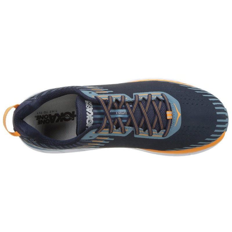 Hoka One One Clifton 5 Textile Synthetic Mens Trainers