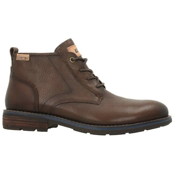 Pikolinos York Leather Mens Boots#color_olmo